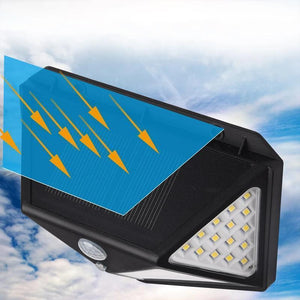 Lámpara Exterior LED Solar Impermeable