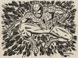 Illustration Spider-Man