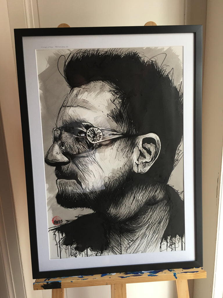 Illustration Bono U2