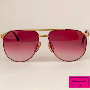 Metzler See You 789 Rare 80's Sunglasses gucci.