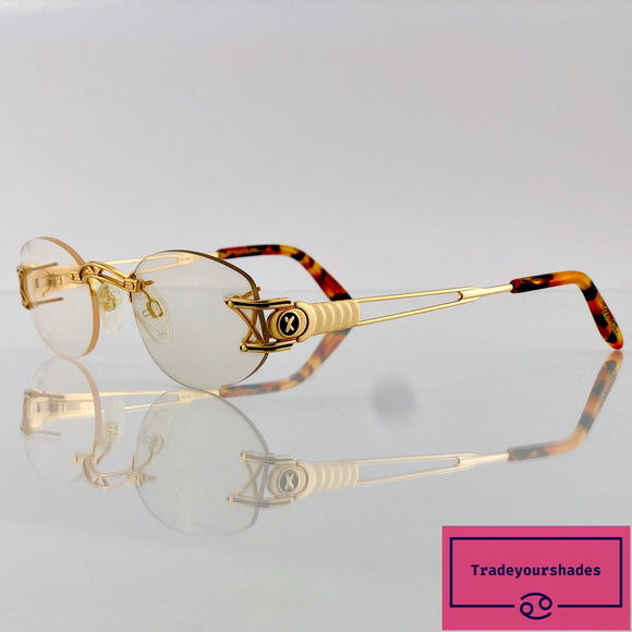 Paloma Picasso by Metzler Vintage Eyeglasses Frame