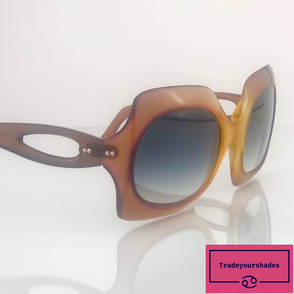 Correna 4260 Vintage 1970's Made in Italy Oversize Sunglasses gucci.