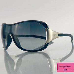 Ray-Ban RB 4091 Black Shield Sunglasses