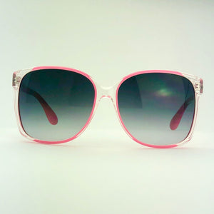 Marc Jacobs MM157/S Oversize Clear/Pink Effect Sunglasses