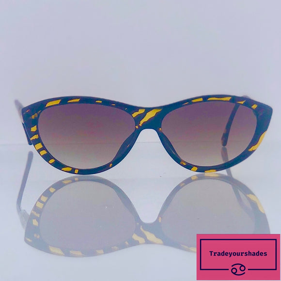 Paloma Picasso for Viennaline Mod.1458 Vintage Cats Eye Sunglasses