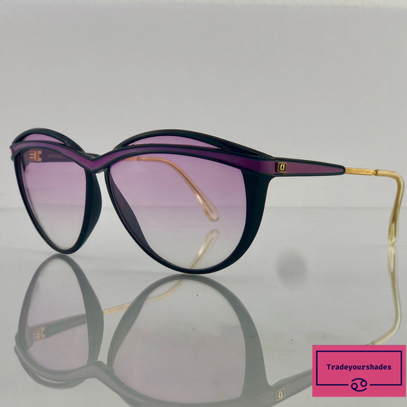 Charles Jourdan 8591 CJ14 Vintage Sunglasses 80's