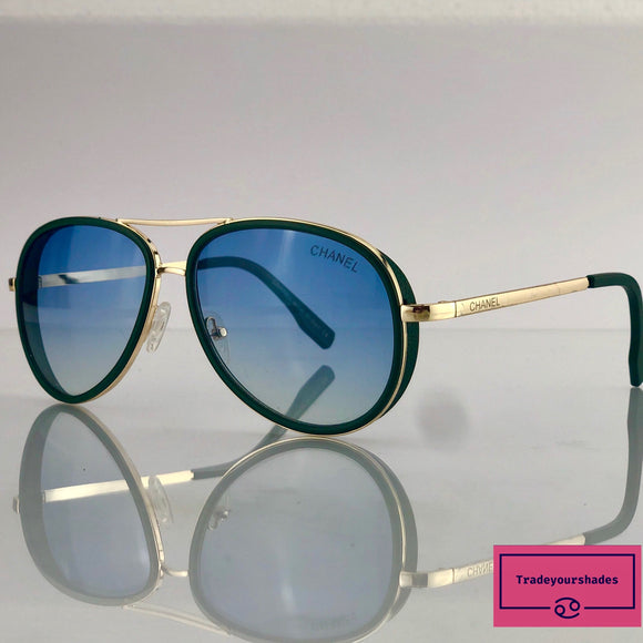 Chanel 1837 Aviator Pilot Sunglasses