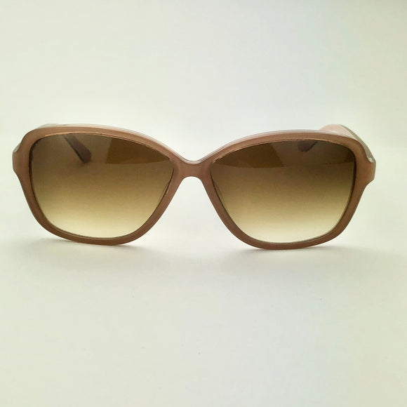 George Gina & Lucy F.B.Eye Light Brown Sunglasses