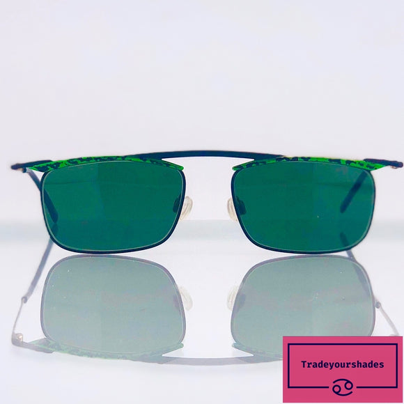 Metzler See You 5329 Rare 80's Sunglasses