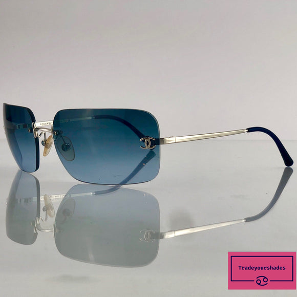 Chanel 4017  Rimless Sunglasses