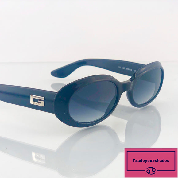 Gucci 2419/N/S Vintage Sunglasses Dark Brown gucci.