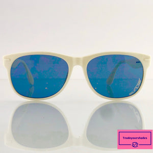 Carrera SUNJET by CARRERA 5244  White Vintage Sunglasses