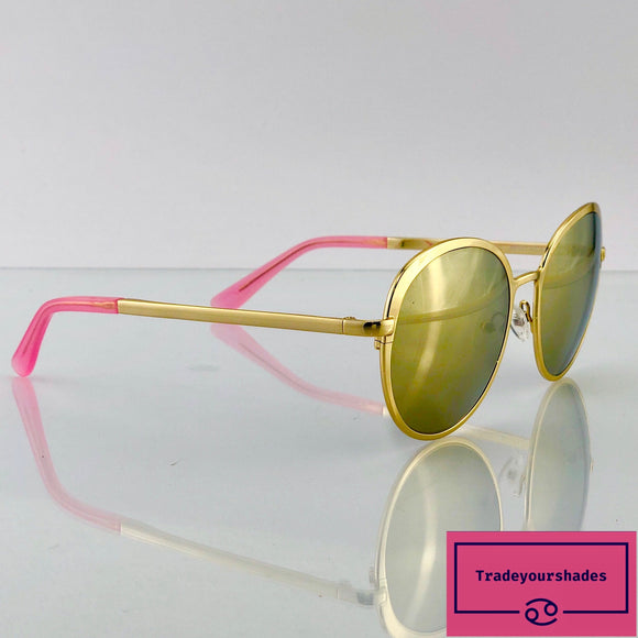 Boden AV151-FC3 Gold Mirrored Sunglasses