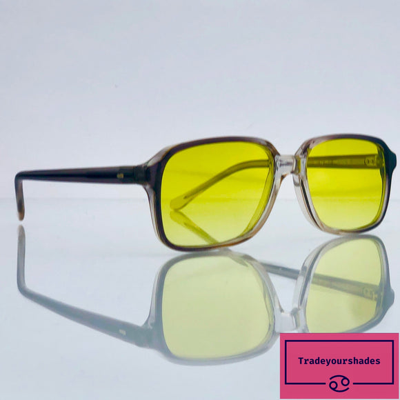 Occhiali BC by Red 632 210 Vintage Nerd Sunglasses 80's