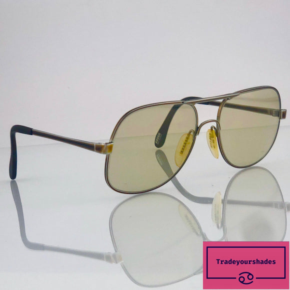 Zeiss Vintage Aviator Sunglasses 80's gucci.
