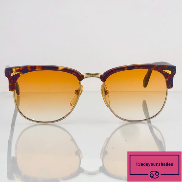 Studio Enjoy Vintage Havana 80's Sunglasses gucci.