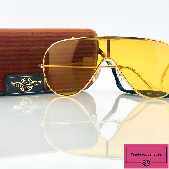 Bausch & Lomb Ray Ban Wings Amber Rose Vintage Sunglasses RB-wings-SB-6063