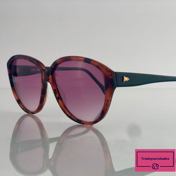 Metzler See You Mod 738 Rare 80's Sunglasses