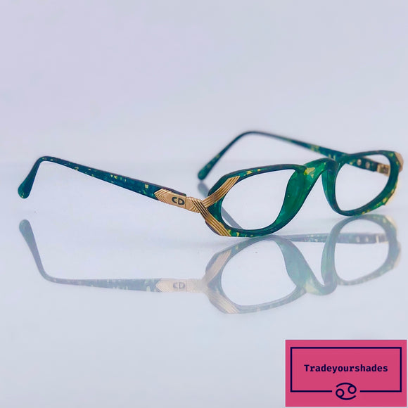 Christian Dior 2596 Superb Vintage Eyeglasses Frame