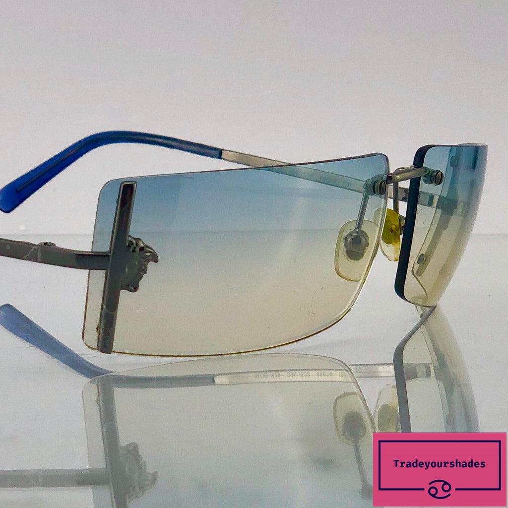 Versace Mod. N29 Rimless Sunglasses gucci.