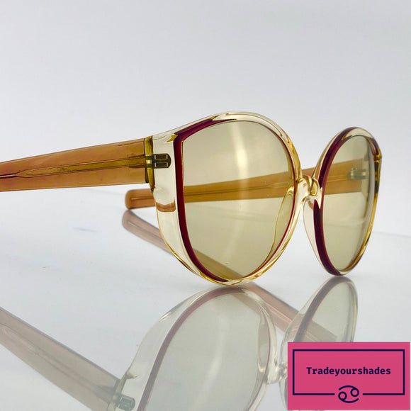 Luxottica 6682 Beautiful Vintage Oversized Sunglasses
