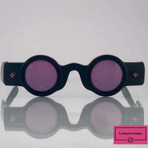 Patrick Kelly Pecan 22 80's Haute Couture Shades