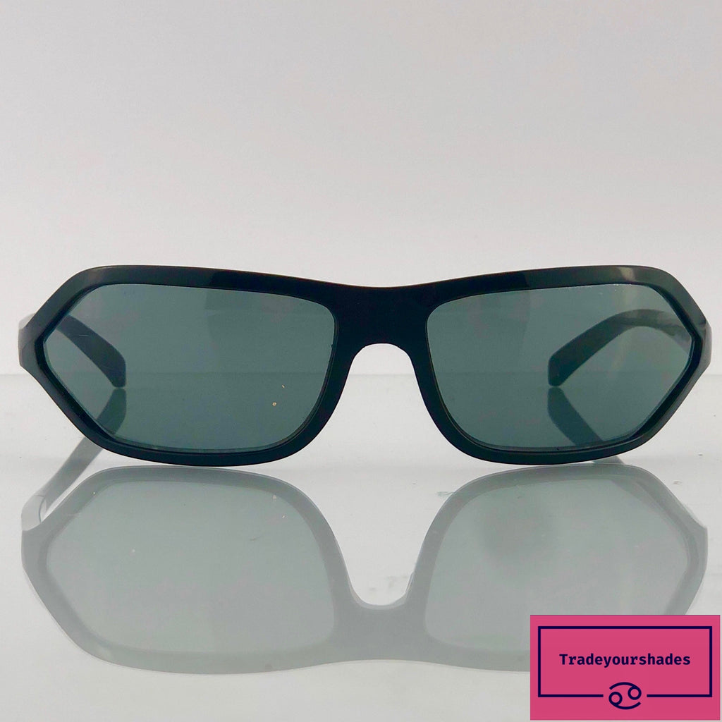 Prada Black Wraparound SP01E Sunglasses gucci.
