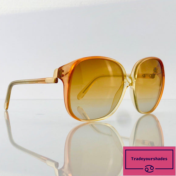 Luxottica Eschenbach 6674 Beautiful Vintage Oversized Sunglasses