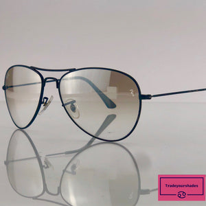 Ray Ban  RB3025 Aviator Classic Clear with Tint Sunglasses gucci.