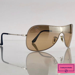 Ray Ban  RB 3211 Sidestreet Shield Sunglasses gucci.