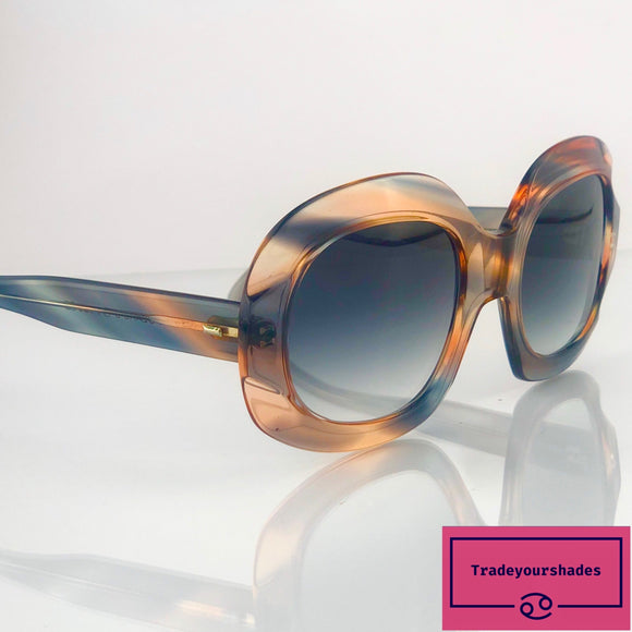 Beautiful Oversize Vintage Poloroid 6403 Sunglasses '70's gucci.