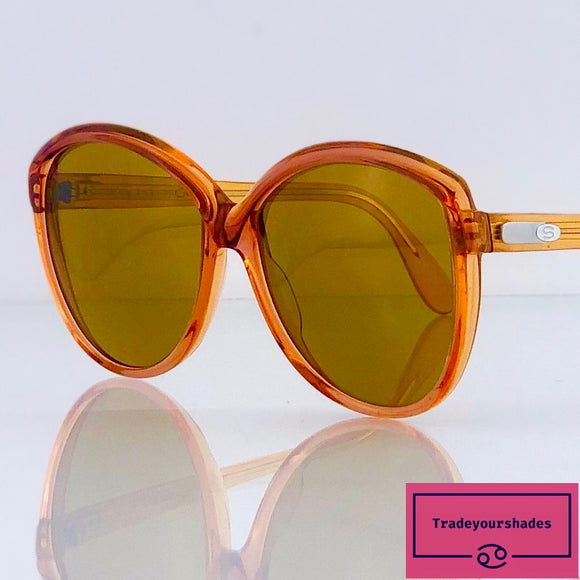 Silhouette Mod.95 Col.175 Vintage Oversize Butterfly Sunglasses