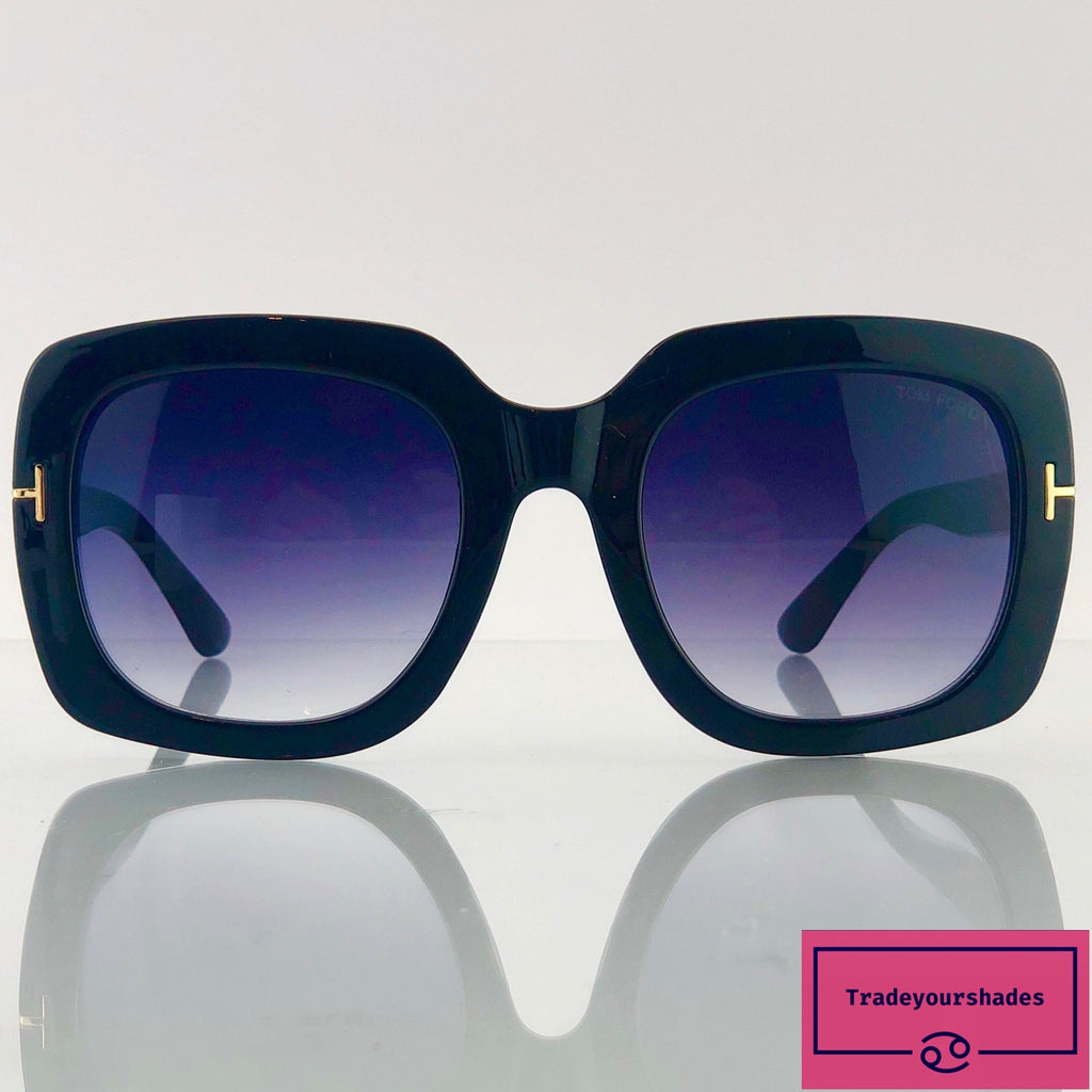 Tom Ford FT 0580 black/grey shaded Sunglasses gucci.