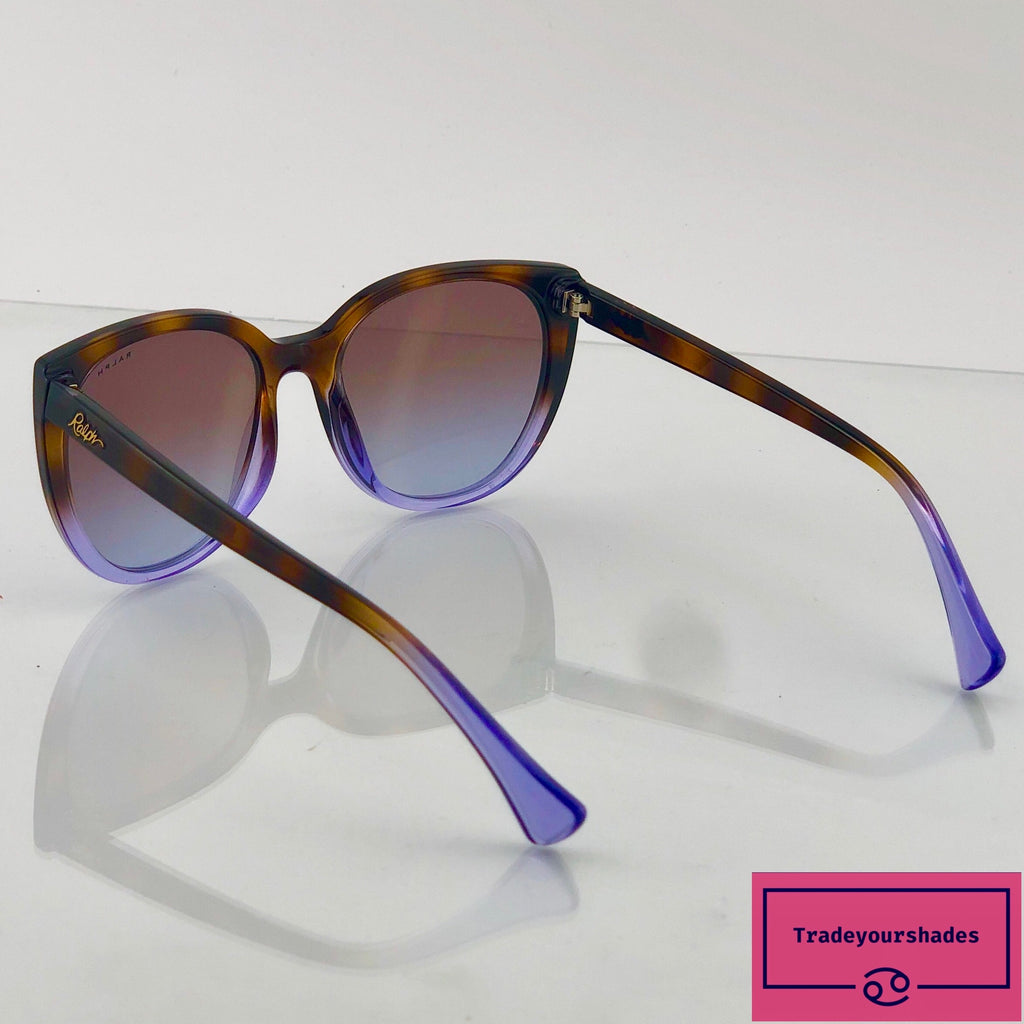 Ralf Lauren Cool Amber Purple Tortoishell design 5249 Sunglasses gucci.