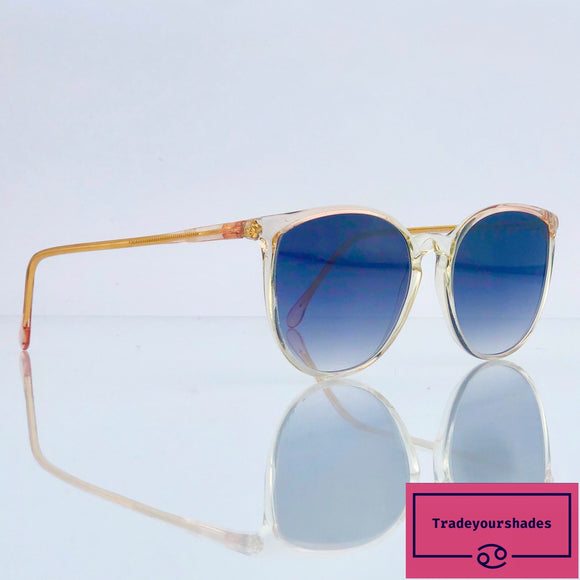 Gambini 80 Clear Vintage Sunglasses 80's