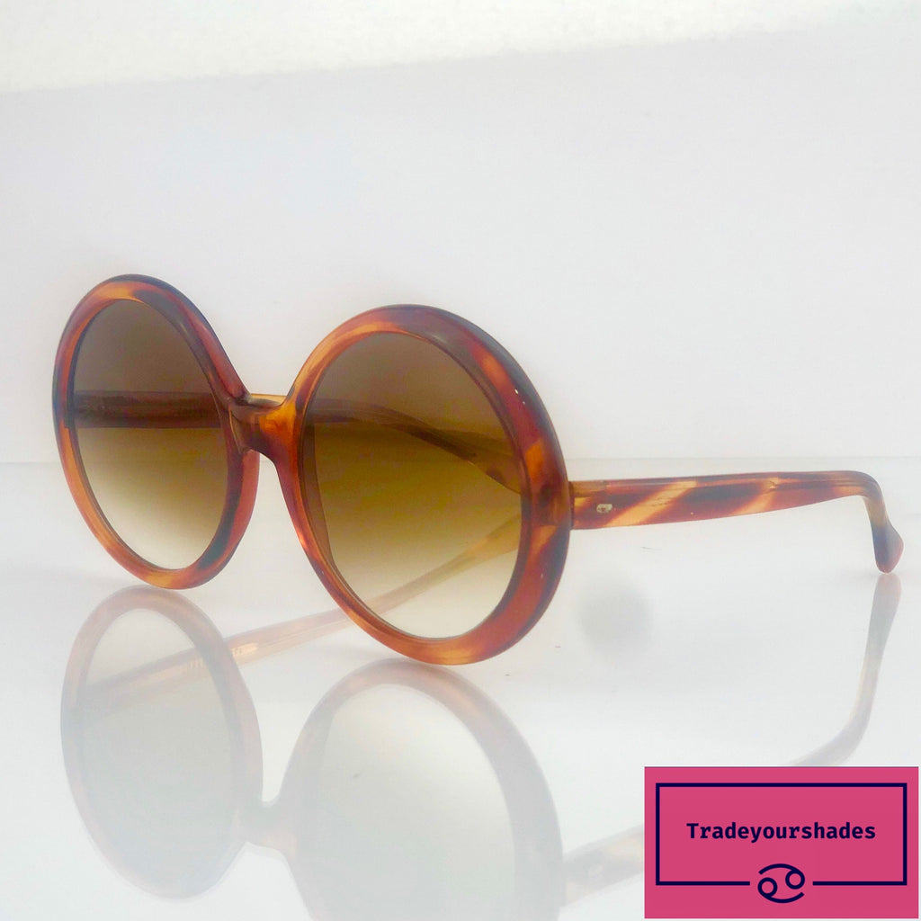 Correna Superpolorised Vintage 1970's Made in Italy Oversize Sunglasses gucci.