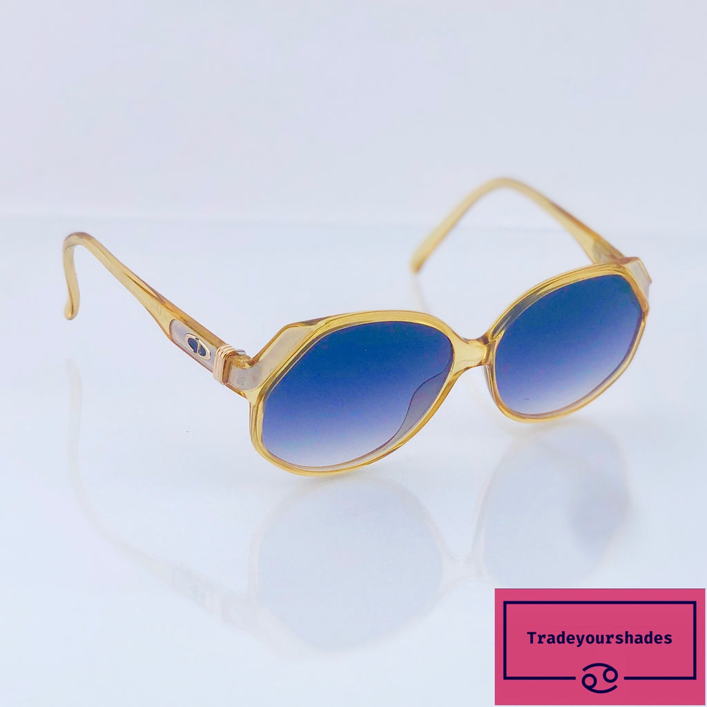 Christian Dior 2255 Butterfly Vintage Sunglasses