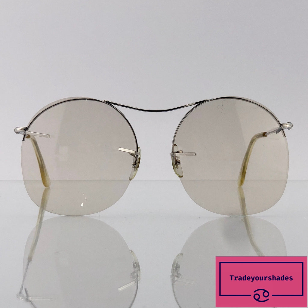 Bausch & Lomb 1/30 10K Gold Filled Round Lens Aviator Frame gucci.