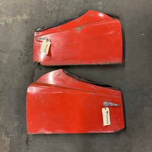 Triumph TR3 Red Door Set