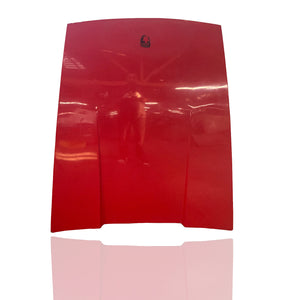 Red Porsche 911 Fiber Glass Front Hood