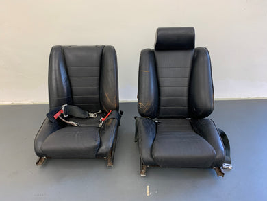 Porsche 911S Sport Authentic Recaro Sports Seats Set (Missing Headrest)