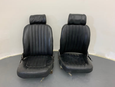 Original Jaguar XKE E-Type Front Seat Set