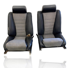 Load image into Gallery viewer, Porsche 911S Sport Authentic Recaro Sports Seats Set With Houndstooth Inserts