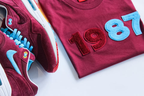 "Foot-Balla T-Shirt ""CHERRYWOOD"" Grail Status PRE ORDER FOR AIR MAX DAY"
