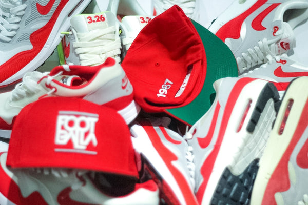 Foot-Balla SnapBack Cap OG Red 1987