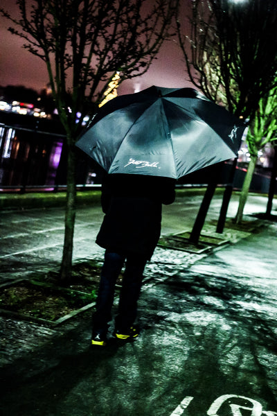 Foot Balla Script Logo 3m Reflective Umbrella