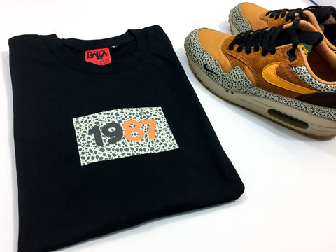 "Foot-Balla T-Shirt - Atmos ""Safari"" Box Tee 2017"