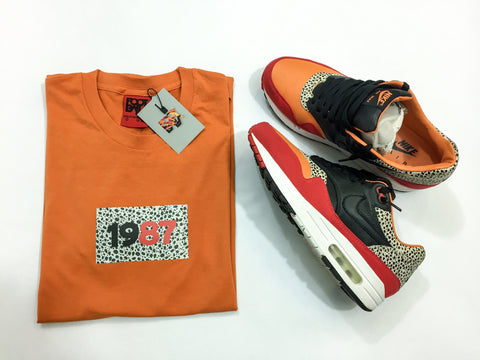 "Foot-Balla T-Shirt - Carrot ""Safari"" Box Tee 2017"