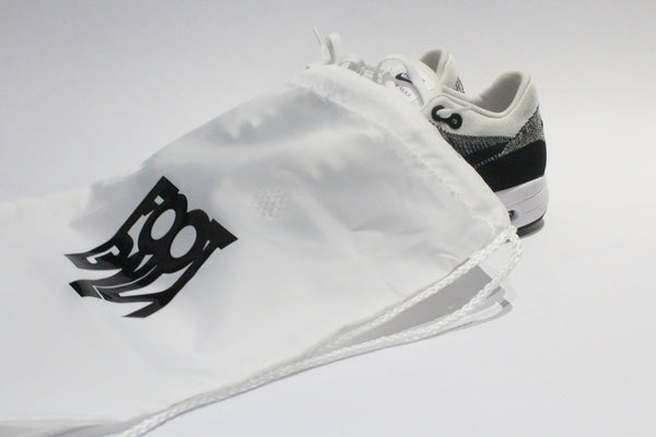 Foot-Balla Logo - Sneaker/Books etc Drawstring Bags