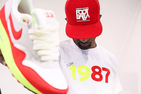 "Foot-Balla T-Shirt ""3.26"" 1987 AIR MAX DAY"